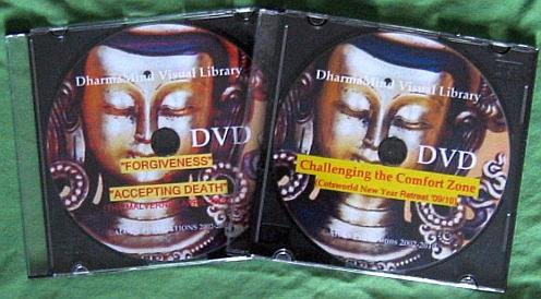 DVD webpage green